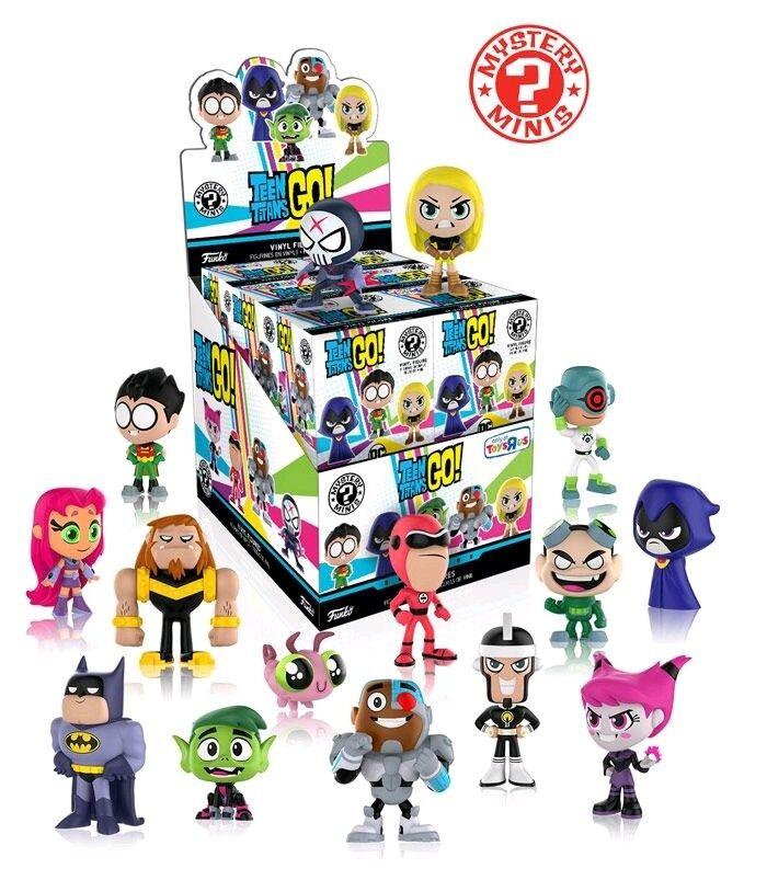 FUNKO - Teen Titans Go  - Mystery Minis TRU US Exclusive Blind Box Set of 12