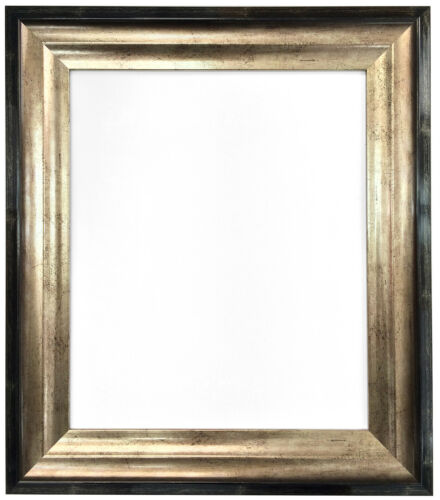 Firenza Black /& Gold Picture Photo Frames in 36 Sizes Stunning Art Deco Design