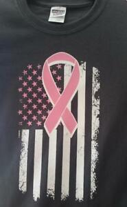 Adult-Breast-Cancer-Short-Sleeve-T-Shirt-Cotton-Poly-Blend