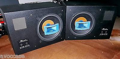 UREI 809 coaxial speakers / ENCEINTES MONITORS STUDIO TRES RARE
