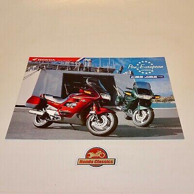 Honda St1100 Pan Europea Cbs-abs Tcs Originale Sales Brochure. Hsb493