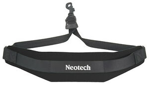 NEOTECH-SOFT-SAX-STRAP-BLACK-COMFORTABLE-SAX-SLING-JUNIOR-UK-POST-FREE
