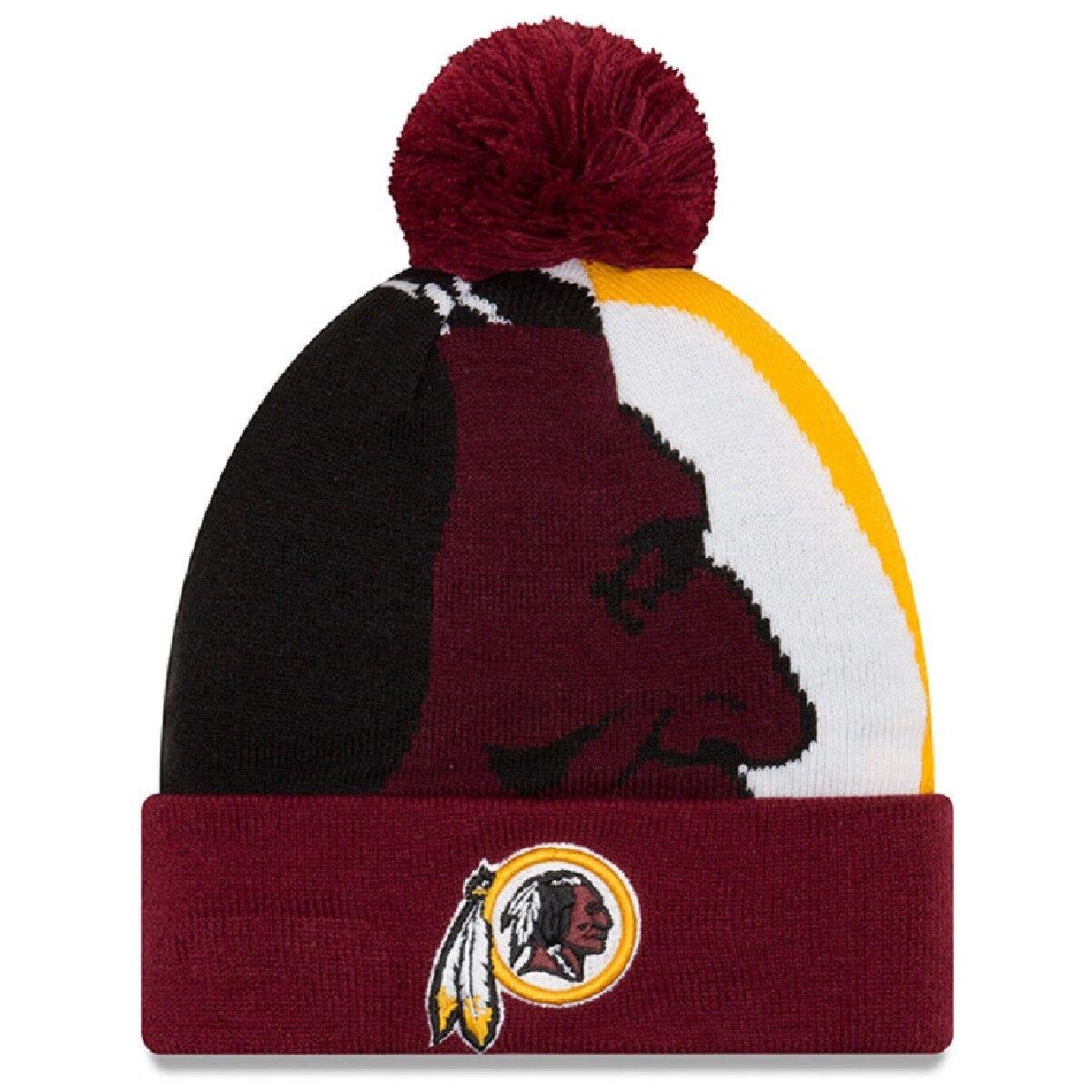 NFL Wollmütze Wollmütze Wollmütze Washington rotskins Logo Whiz3 Wintermütze cuffed knit hat NewEra 965f66