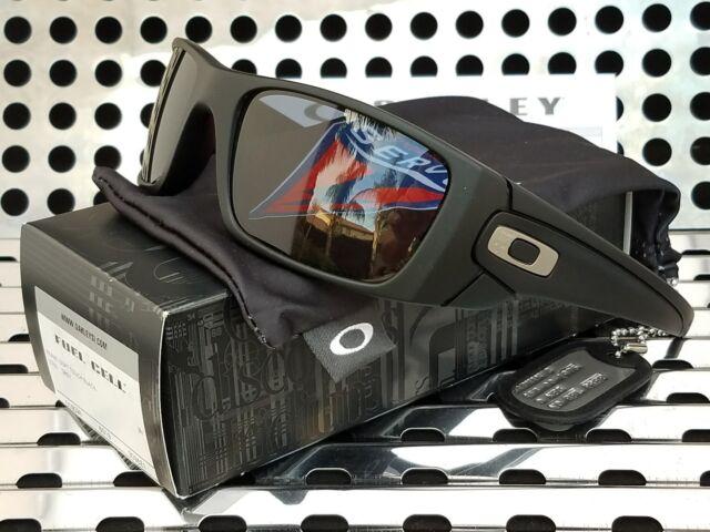 b9a49c47a51 New Oakley Std. Issue 9096-E1 FUEL CELL Sunglasses Soft Black w Gray