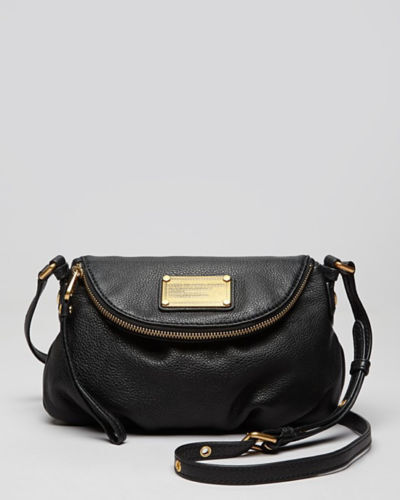 Marc By Jacobs Crossbody Q Natasha Leather Mini Black Handbag 298 Ebay