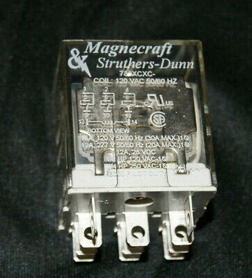 Magnecraft 750XCXC-220//240A Plug-In Relay AARR
