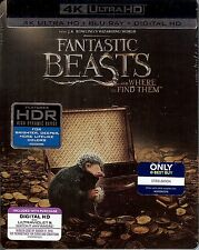 Fantastic Beasts and Where to Find Them Limited Edition 4K Ultra HD SteelBook