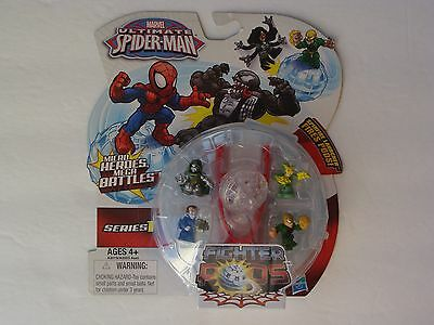 Ultimate Spider-Man Fighter Pod Series 1 NOVA Micro Hero Mint OOP