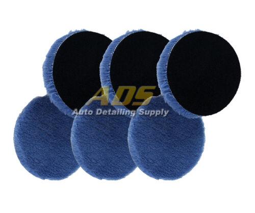 "Lake Country 5.25/"" Hybrid Wool Pad 6 Pack"