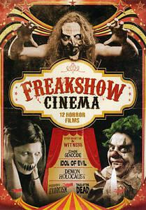 Freakshow-Cinema-12-Horror-Films-DVD-2013-3-Disc-Set-VG-FREE-SHIPPING