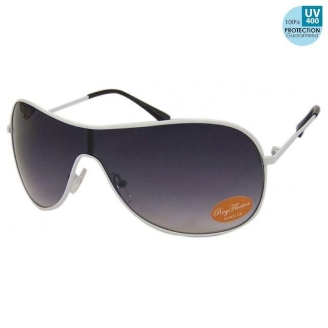 400UV-Ray protection!Gradient Black White frame Visor Sunglasses Men@ban_that_su