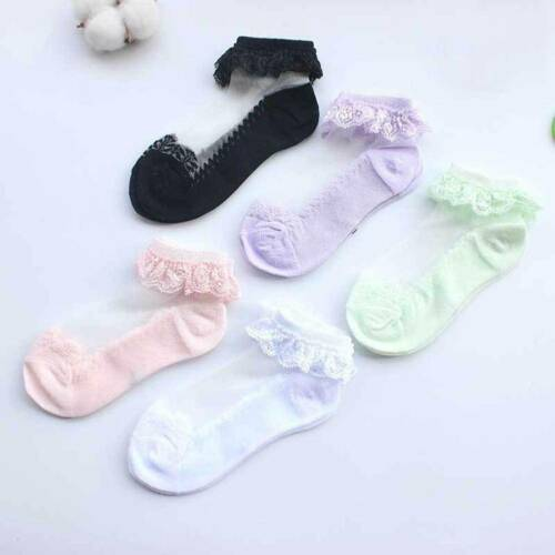 Newborn Baby Lace Soft Toddler Socks Girls Breathable Kids Socks 22 Colors NtNtH