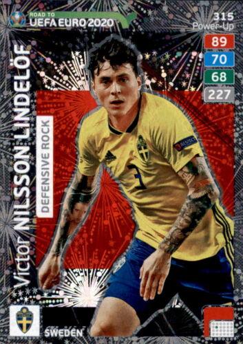 Carte 315-Victor Nilsson Lindelöf-Défensive Rock-ADRENALYN ROAD TO Euro EM 2020