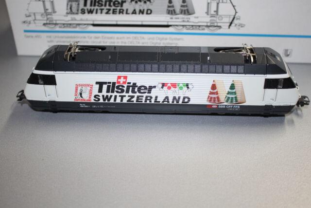 """Märklin 34613 Elok Serie 460 020-1 Re 4/4 SBB """"Tilsiter Switzerland"""" Spur H0 OVP"""