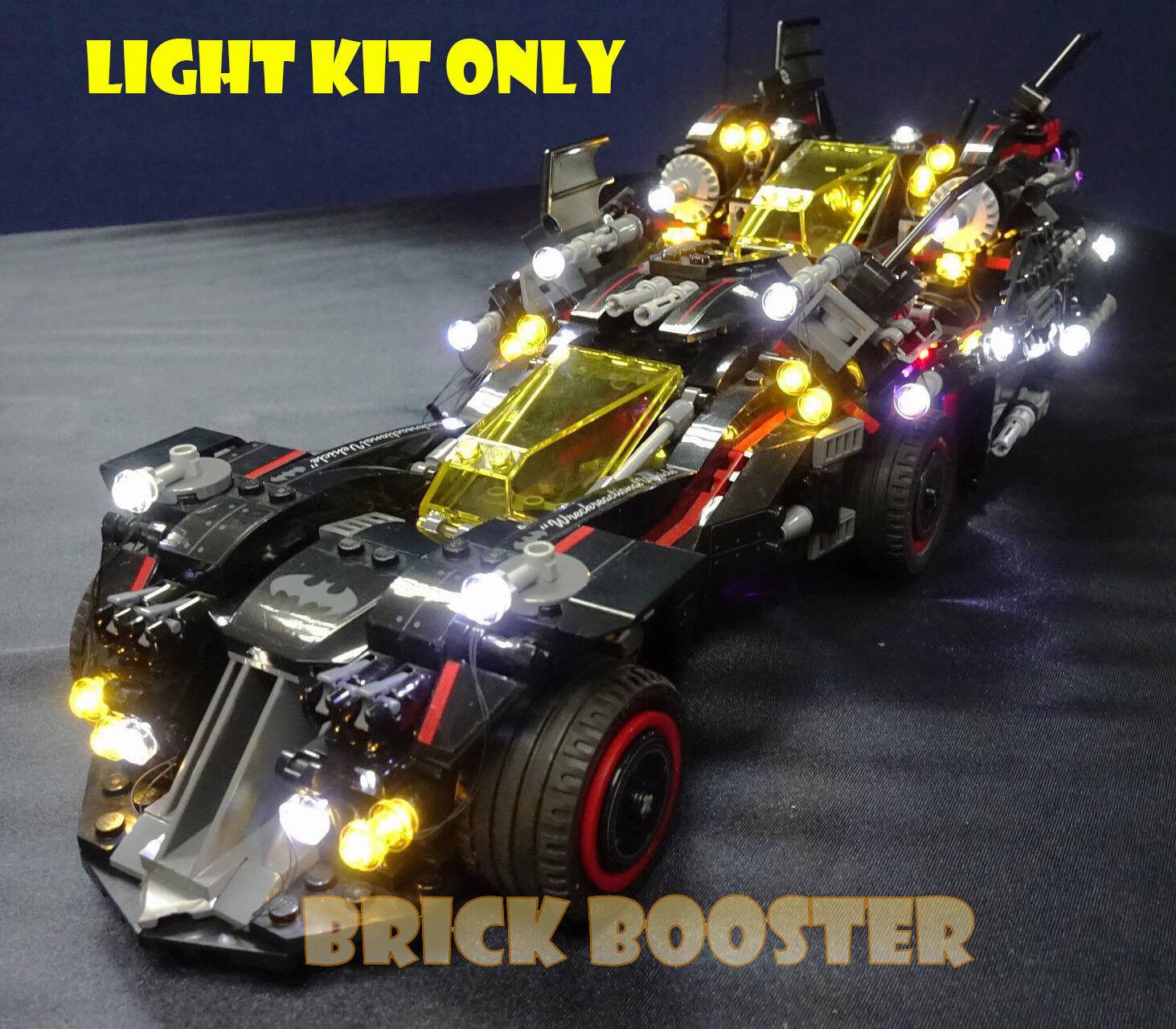 USB PoweROT LED Light Kit for Lego 70917 The Ultimate Batmobile