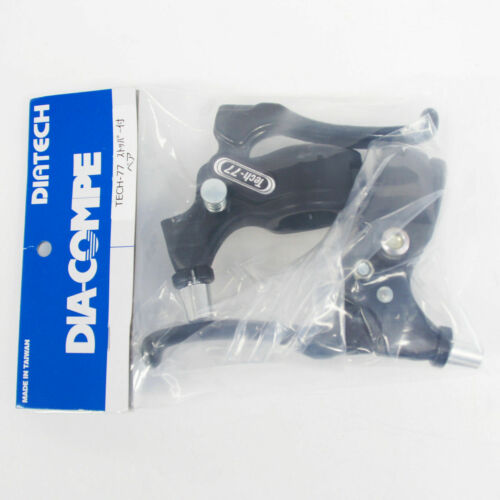 with Stopper Black DIA-COMPE TECH-77 Brake Lever Left /& Right Pair