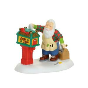 Dept 56 2017 North Pole Workshop Village OFF-SEASON SANTA #4056670 NRFB Retired*