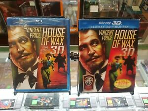 Blu-Ray-3D-House-of-Wax-1953-SEALED-Slipcover
