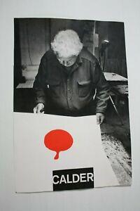 Poster-originale-CALDER-a-Milano-Foto-Di-Ugo-Mulas-1971-eBayDonaPerTe