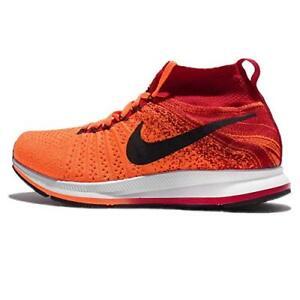 e4db88332a94 Nike Zoom Pegasus All Out Flyknit Orange Black Red 5Y Women s 6.5 ...