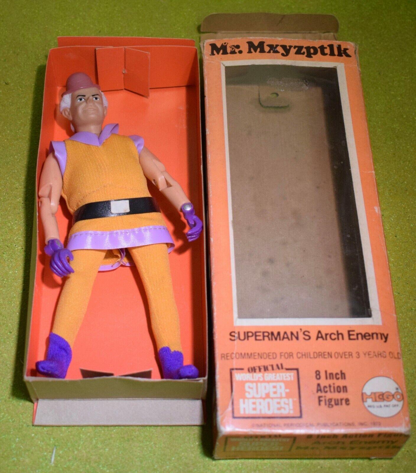 MEGO SUPER-HEROES MR MXYZPTLK SUPERMANS ARCH ENEMY 8 INCH FIGURE AS PICTURED