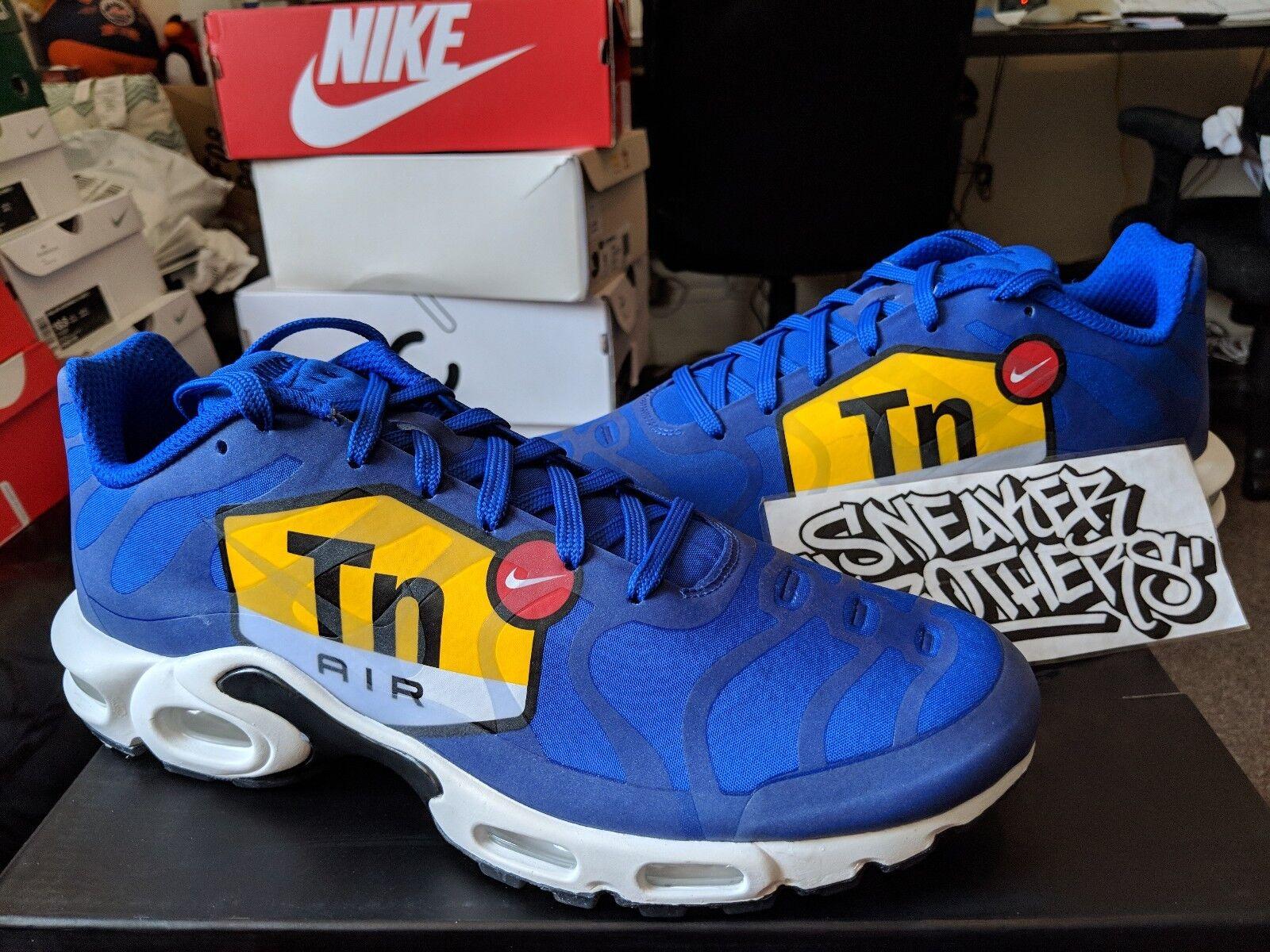 Nike Air Max Plus TN Tuned 1 NS NS NS GPX Big Logo Royal bluee Black White AJ7181-400 541757