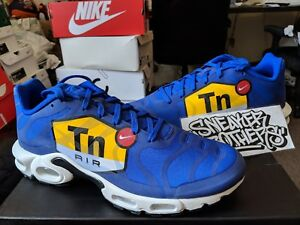 cef4ff0e91 Nike Air Max Plus TN Tuned 1 NS GPX Big Logo Royal Blue Black White ...