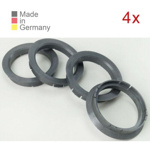 4x Bagues de centrage 64,0 x 54,1 Convient pour ICW Borbet Rh ASA Opel Peugeot Nissan