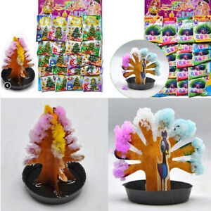 Magic-Growing-Tree-Kit-Christmas-Kids-Novelty-Xmas-Paper-Decoration-Toys-Gifts