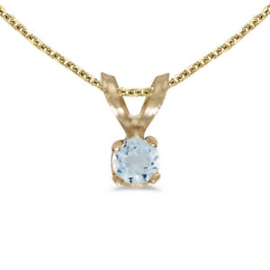 14k-Yellow-Gold-Round-Aquamarine-Pendant-with-18-034-Chain