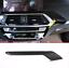 Echt Carbon Auto Mittelkonsole Dekoration Abdeckung Für BMW X3 G01 X4 2018 2019