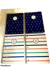 Mead 100 Page 3 Hole Spiral Notebook 10 12 Inch X 7 12 Inch Lot Of 4
