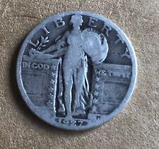 Random Date  Philadelphia Mint Silver Standing Liberty Quarter Circulated