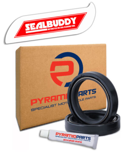 Fork Seals /& Sealbuddy Tool for KTM GS 250 85 84-85
