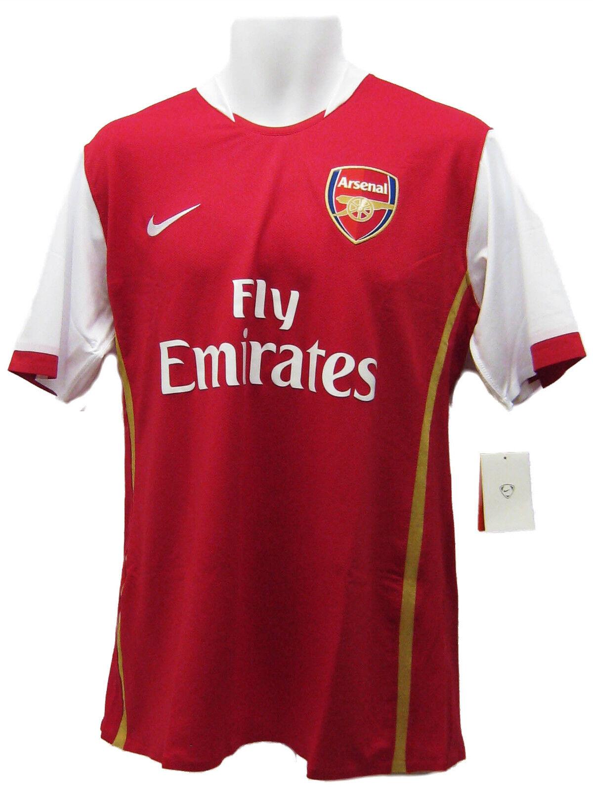 Nuevo Nike Arsenal Player Tema Fútbol Epl Partido Camisa Manga Corta Grado B XL