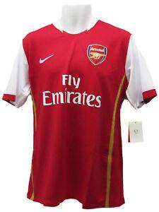 Neu-Nike-Arsenal-Fussballverein-Match-Hemd-Kurzaermelig-Einzelverkauf-Replik-XL