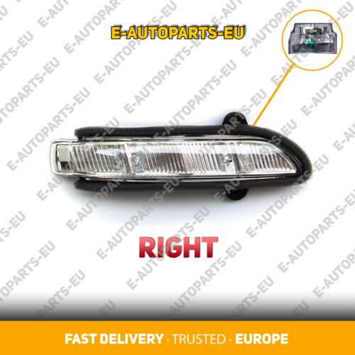 Mercedes Benz E Class W211 2007 2008 2009 Right Wing Mirror LED Blinker Repeater