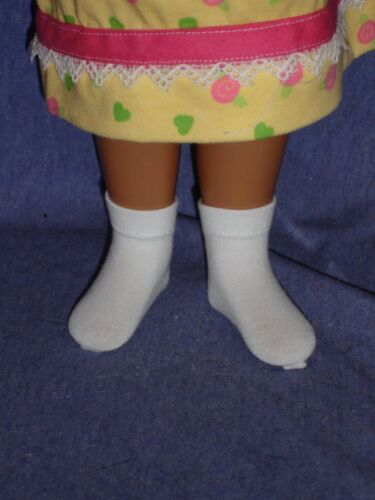 "White Ankle Socks for New or Vintage 16/"" Sasha Doll"