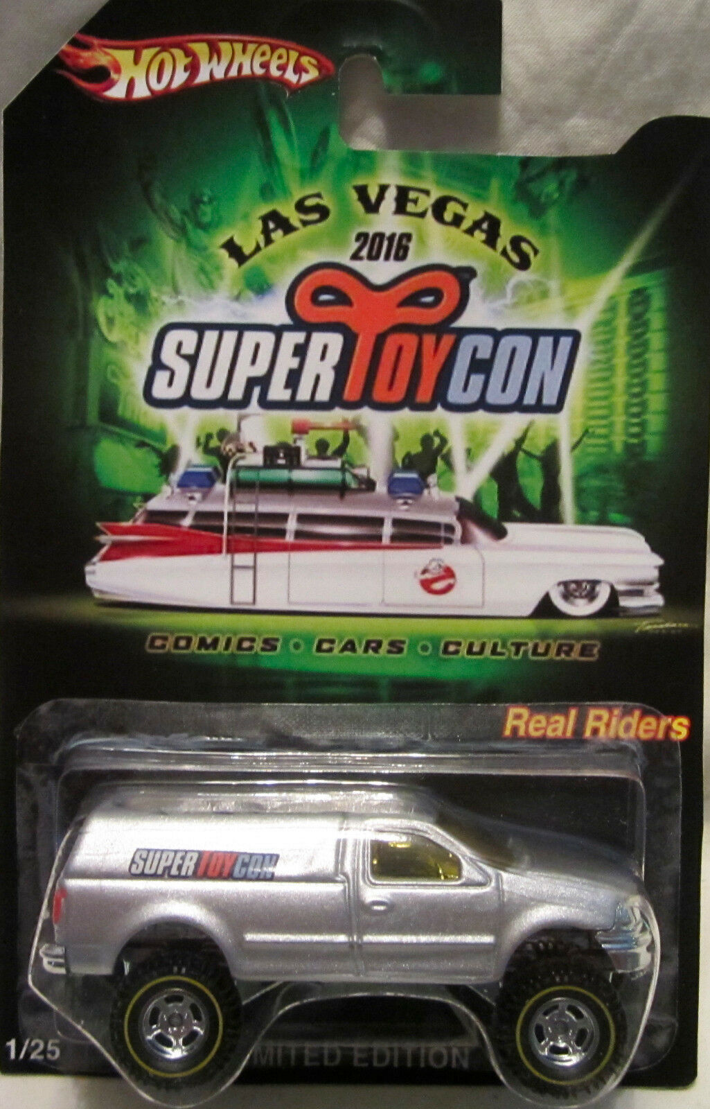 Hot Wheels Personnalisé Ford F-150 2016 Las Vegas Convention Real Riders 1 25