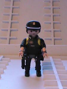 Playmobil custom Policía Nacional.GOES