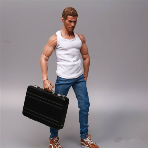 1/6 Toys Model VINTAGE MILITARY Swat Army Navy Suitcase 12 Action Figure Be