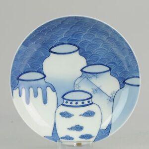 Antique-Meiji-Lovely-Japanese-Porcelain-footed-Dish-Nabeshima-Porcelain