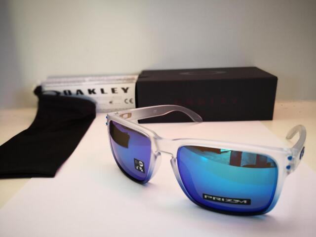 f3fc554f78 Nuevo Oakley Holbrook Gafas de Sol Zafiro Mist/Prisma Zafiro IRIDIO  OO9102-G55