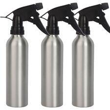3Pcs 240ml Aluminum Green Soap Spray Tattoo Diffuser Squeeze Bottles Silver US