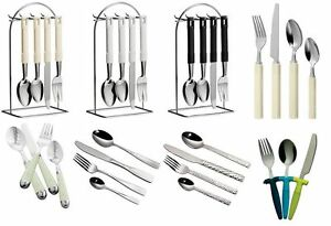 3pc-16pc-24pc-Cutlery-Set-Stainless-Steel-Children-Kitchen-Home-Cafe-Sets