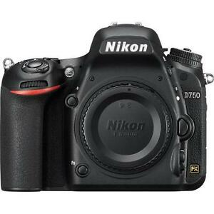 Nikon D750 Digital SLR Camera Body Only 1543