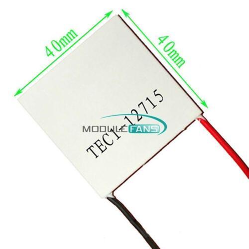 40*40mm TEC1 12703 12715 Heatsink Thermoelectric Cooler Cooling Peltier Plate