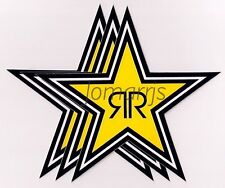 NEW (3) Rockstar Energy Star Decals Stickers LOT Official Authentic Merchandise