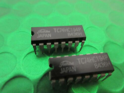 TC74HC194P 74HC194P Original Toshiba IC 74HC194  **2 CHIPS PER SALE**