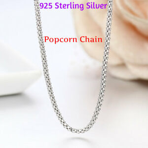 REAL-Classic-925-Sterling-Silver-Chain-Necklace-SOLID-SILVER-925-Jewelry-Italy